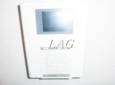 モニター付インターホンです。