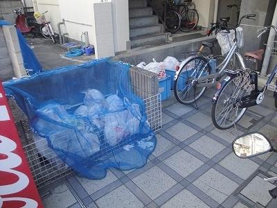 ゴミ集積場です