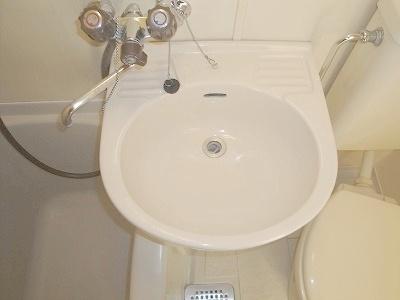 洗面所も綺麗です