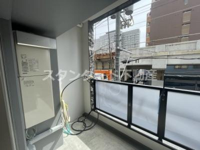 【バルコニー】フォーリアライズ梅田レーベン