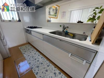 【キッチン】神戸市西区伊川谷町有瀬 平成24年築の戸建住宅