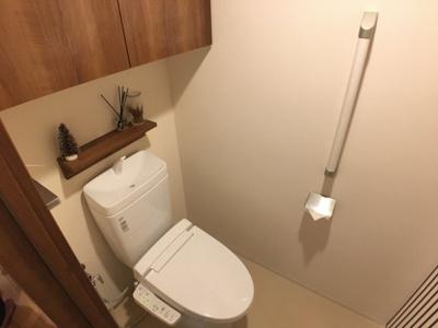 【トイレ】ブリリアシティ千里丘F棟