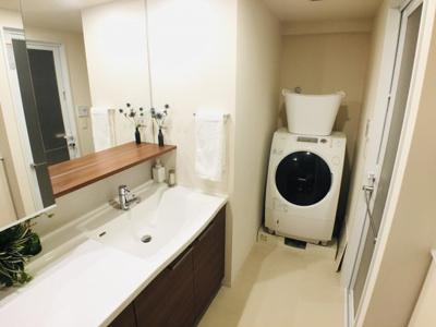 【独立洗面台】ブリリアシティ千里丘F棟