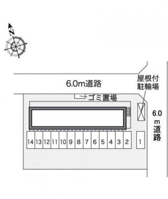 【駐車場】レオパレスMSK三成ヶ丘