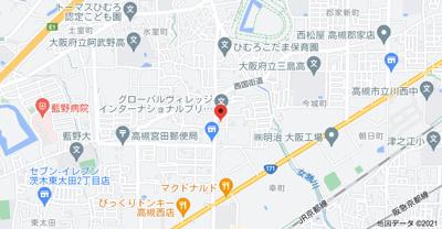 【地図】ホーミーレジデンス