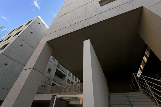 竹中工務店施工、著名建築家によるデザイナーズマンション