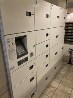 エントランス共用部には宅配BOXが設置されています。留守中の荷物の受取りもストレスフリーです。