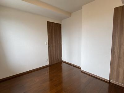 5.3帖の洋室。クローゼットあり