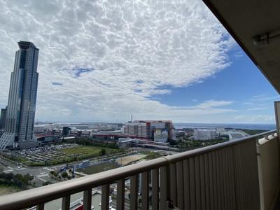 20階からの眺め。