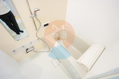 ネット無料。きれいなお風呂ですね