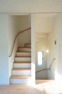 リビングイン階段です