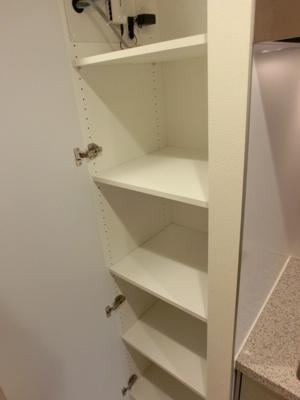 キッチン横便利な収納