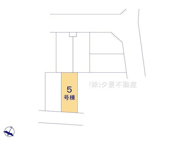 【区画図】川口市芝塚原1丁目13-16(5号棟)新築一戸建てクレイドルガーデン