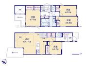 川口市鳩ケ谷本町4丁目9-10(B号棟)新築一戸建てメルディアの画像