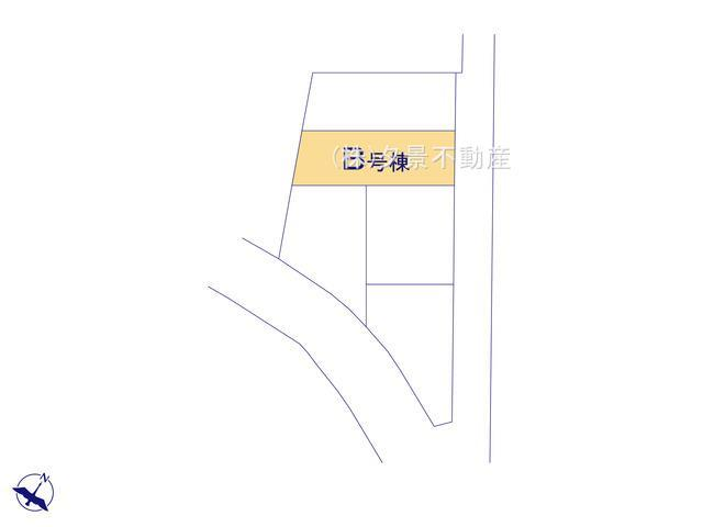【区画図】川口市鳩ケ谷本町4丁目9-10(B号棟)新築一戸建てメルディア