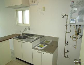【キッチン】札幌市西区琴似四条3丁目一棟アパート