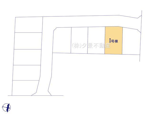 【区画図】川口市中青木5丁目13(I号棟)新築一戸建て