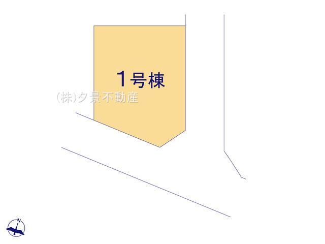 【区画図】川口市大字新堀26-6全1戸新築一戸建てricca
