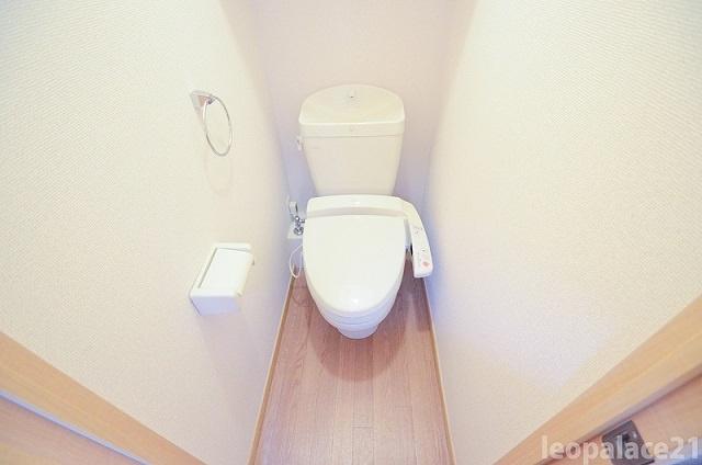 【トイレ】レオパレスリバーサイド上砂