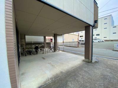 【駐車場】マンションニューハマ3B