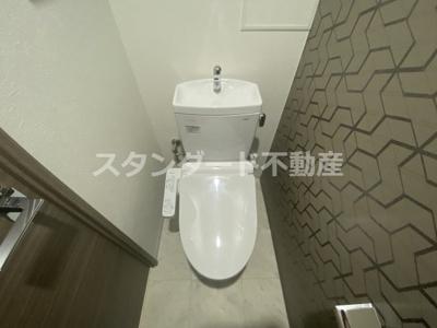 【トイレ】ミラージュパレス新梅田Rio