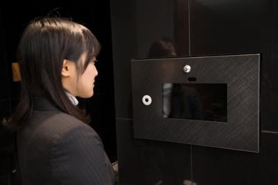 顔認証によるエントランスロック開錠