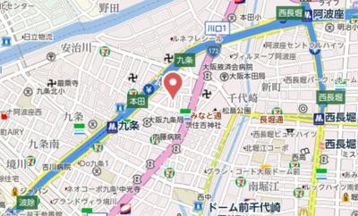 【地図】PerfectLife本田