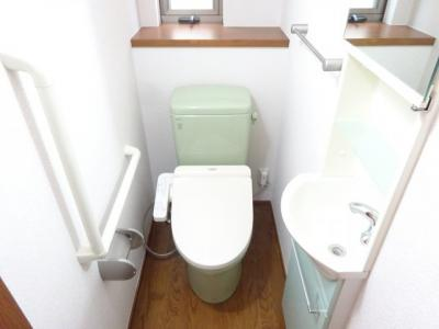【トイレ】杉並区松庵2丁目貸家