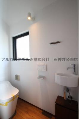 【トイレ】練馬区石神井台5丁目 中古一戸建 西武新宿線 上石神井