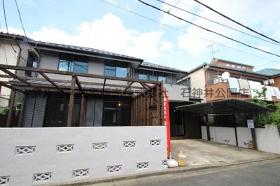 【外観】練馬区石神井台5丁目 中古一戸建 西武新宿線 上石神井
