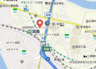 【地図】サニーサイドヒルズKANO