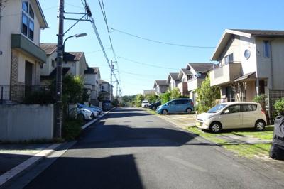 閑静な住宅街。