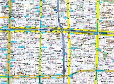 【地図】エグゼ堺筋本町