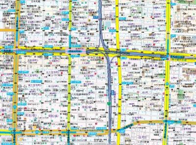 【地図】サムティ本町橋