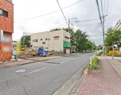 【前面道路含む現地写真】東村山市美住町1丁目 全4棟 B号棟