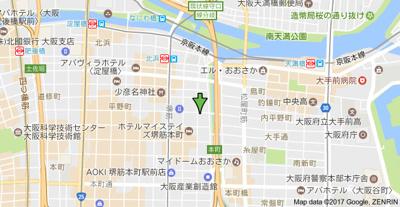 【地図】ルミノール北浜セレニテ