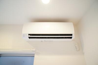 室内にはエアコンを完備しています