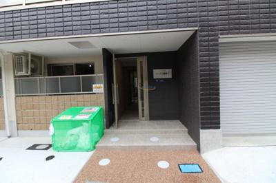 【エントランス】リーブル福島Ⅱ