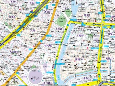 【地図】パウゼドーム前
