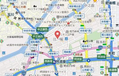 【地図】フロスト