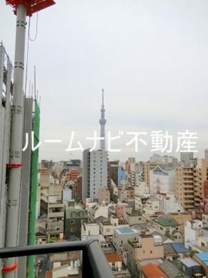 【展望】サンクタス浅草レジデンス