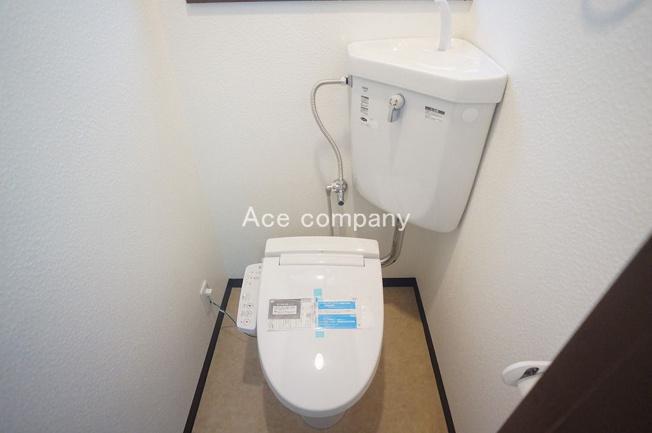 2階はシャワートイレです☆
