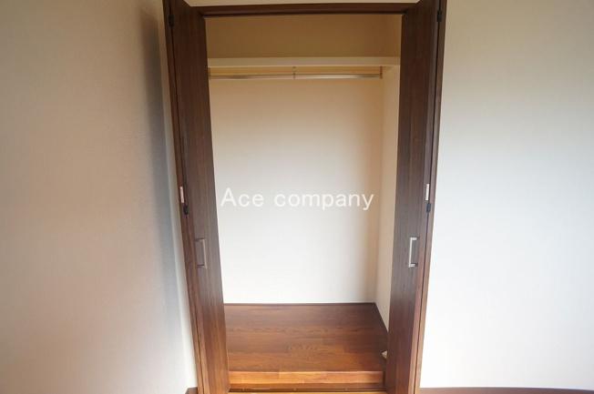 【3階:西側洋室7.5帖】のクローゼットです♪