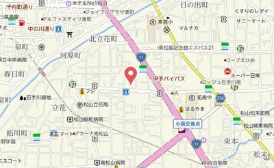 【地図】アムールナカノ