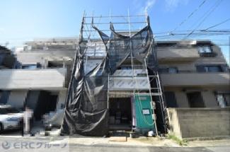 【前面道路含む現地写真】住吉宮町2丁目新築戸建て