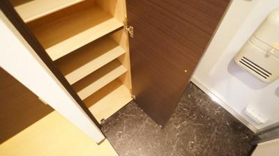 大きな靴箱で玄関もすっきり!