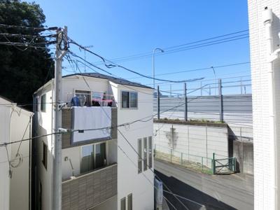 3階バルコニーからの眺望です♪