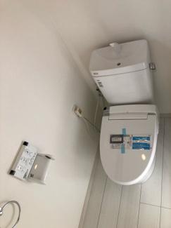 新規交換済 ピカピカのトイレは気持ちがいいですね♪