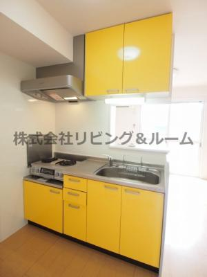 【キッチン】サングリエ B棟