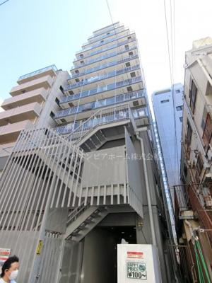 【外観】両国ダイヤハイツ 10階 リフォーム済 角部屋